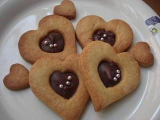 ハートチョコクッキー