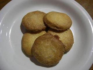 キラキラバニラクッキー