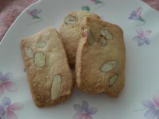 ホールアーモンドクッキー