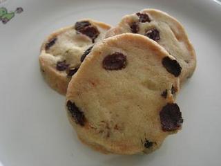 レーズン入りクッキー